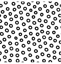 hand-drawn black and white seamless texture vector image