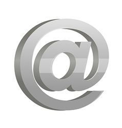 Icon email mark vector