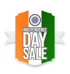 India Independence Day Sale Banner vector image