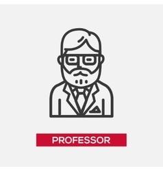 Professor - single icon vector
