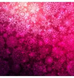 seamless deep pink christmas pattern eps 10 vector image
