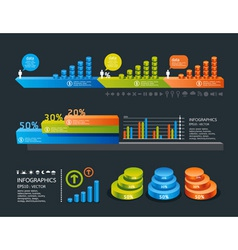 info graphic icon vector image vector image