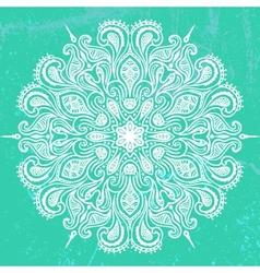 mandala design vector image vector image