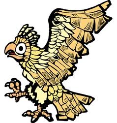 Aztec Eagle vector image vector image
