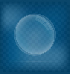 realistic 3d sphere vector image