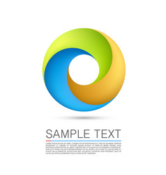 Abstract infinite loop vector