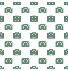 Camera pattern seamless vector