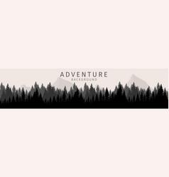 Cartoon adventure background vector