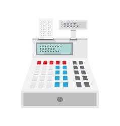 Cash Register Icon vector image