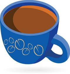coffeee2 vector image