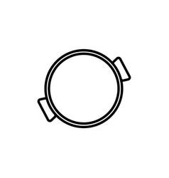paella icon vector image