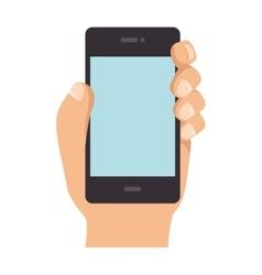 Smartphone phone technology vector