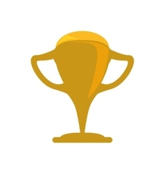 Trophy cup winner competition icon graphic vector
