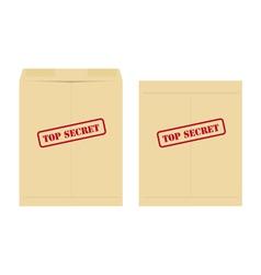 top secret envelope vector image