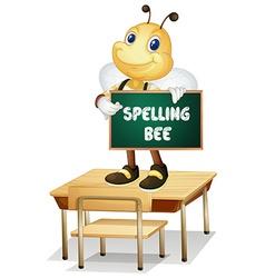 Spelling bee vector image vector image