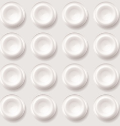 Abstract plastic regular pattern background vector image