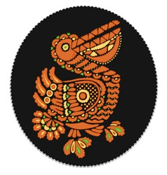 russian pelican vector image
