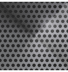 Abstract Dotted Steel Background vector