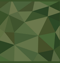 abstract vitrage with low poly military camouflage vector image