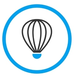 Aerostat Rounded Icon vector