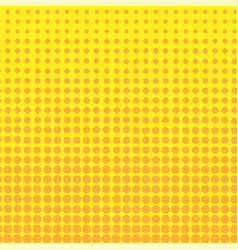 Halftone circles background halftone dot pattern vector