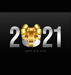 happy new year 2021 background decorative vector image