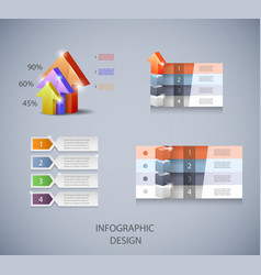 set of design elements for infographic or vector image