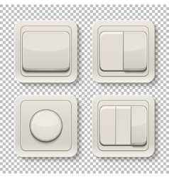 set switches vector image