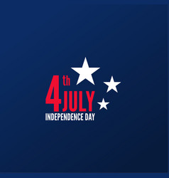 United stated independence day vector