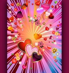valentinexplosion vector image
