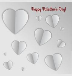 valentine s heart vector image