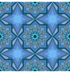 Crystal pattern vector image vector image