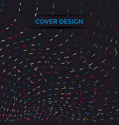 cover design line vector image vector image