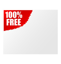 sign 100 free vector image vector image