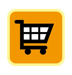 A icon of cart vector