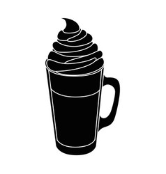 Coffee drink icon vector