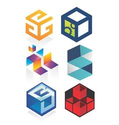 Cubic logo vector