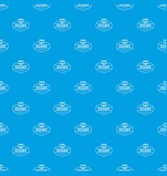 Designer pattern seamless blue vector