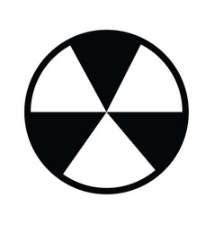 Nuclear icon sign symbol outline vector