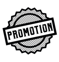 Promotion stamp on white vector