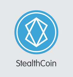 Stealthcoin cryptocurrency xst symbol vector