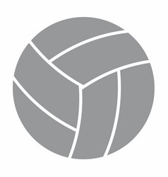 volley ball icon vector image