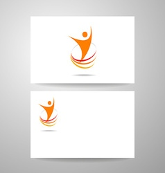 success energy template vector image