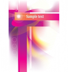 beautiful background for your design vector image