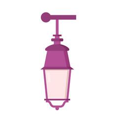 street lantern icon vector image vector image