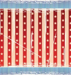 Background with strips and stars vector image