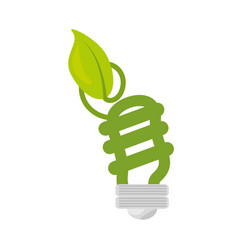 ecological energy alternatives icon vector image