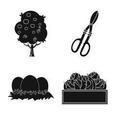 farm and agriculture icon vector image