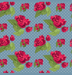 Flowery seamless pattern vector