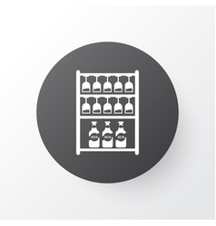 glassware icon symbol premium quality isolated vector image